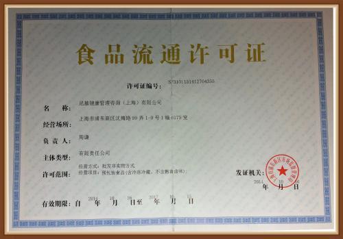 黑龙江食品流通许可证步骤