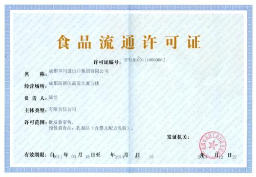 黑龙江食品流通许可证挂失